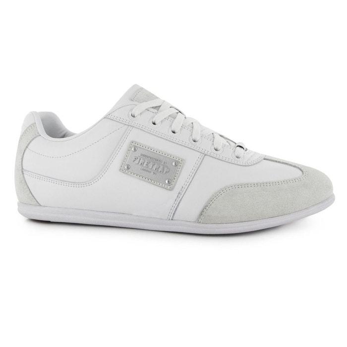 Baskets basses blanc Firetrap