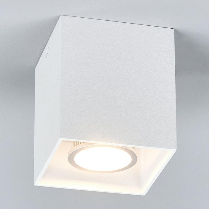 spot poser rectangulaire carson en blanc blanc lampenwelt la redoute. Black Bedroom Furniture Sets. Home Design Ideas