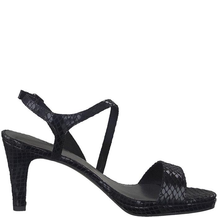 Sandales à talon paduli   noir Tamaris   La Redoute