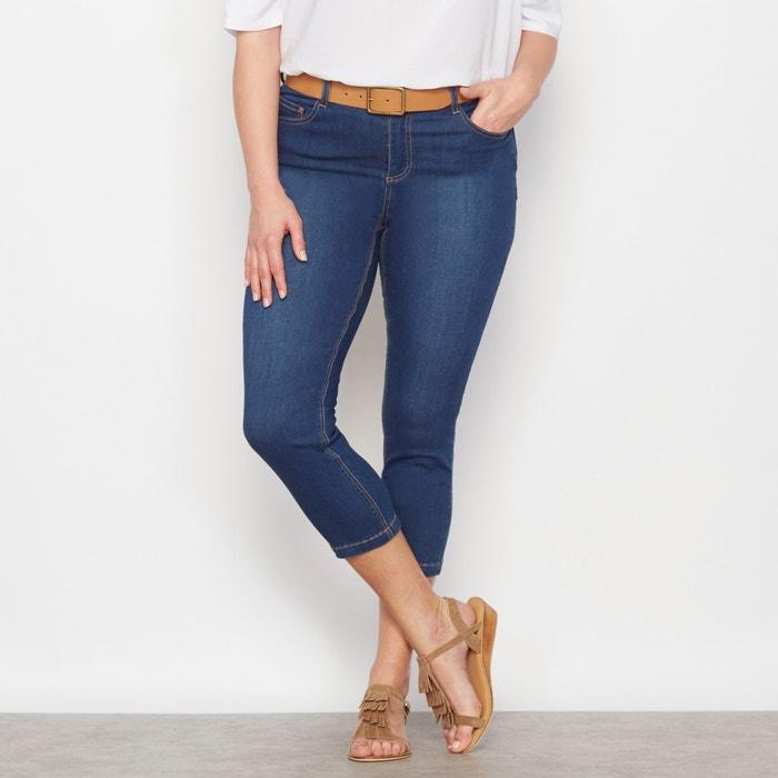 "Cropped Jeans, Length 24.5""  CASTALUNA image 0"