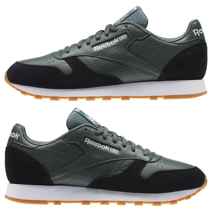 Classic leather gi vert Reebok Classics
