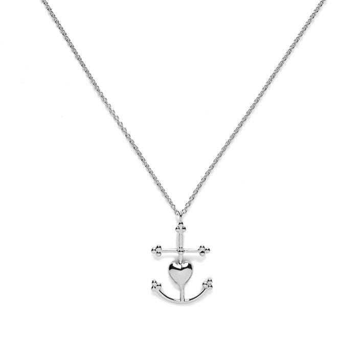 Collier en argent grande croix de camargue argent Agnes De Verneuil   La  Redoute 2518c61e92f
