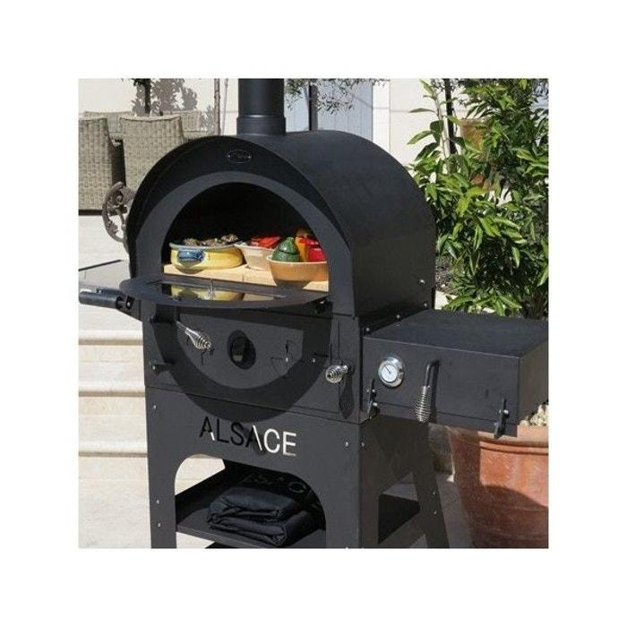 four pizza exterieur multi fonction vulcano 3 premium couleur unique art du jardin la redoute. Black Bedroom Furniture Sets. Home Design Ideas