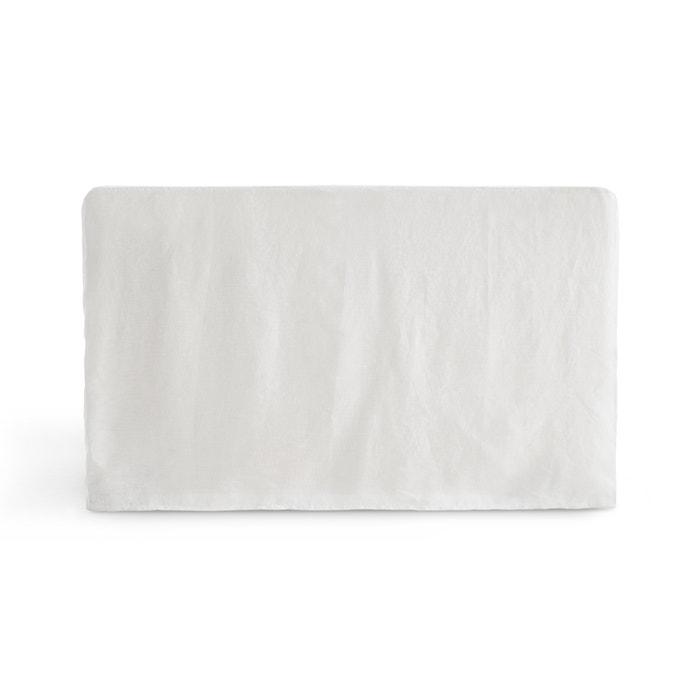 afbeelding Hoes voor hoofdbord in gewassen linnen ABELLA La Redoute Interieurs