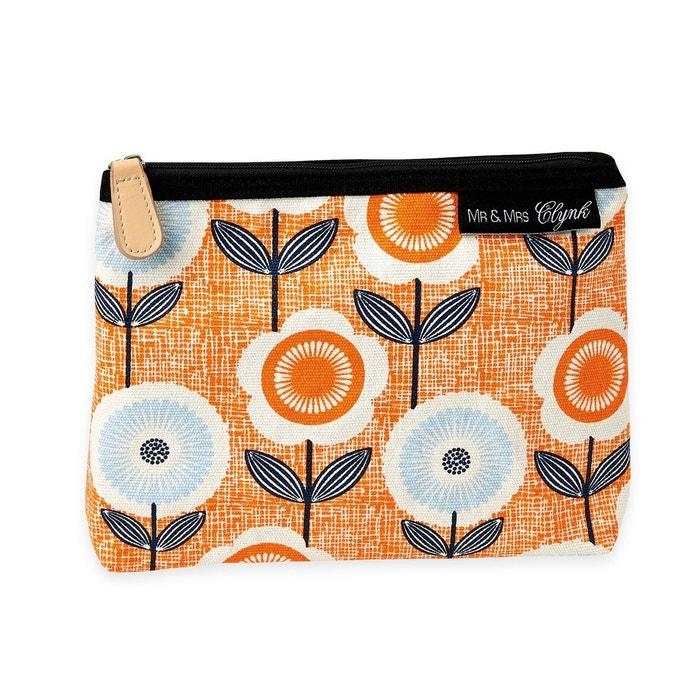 trousse maquillage vintage mr mrs clynk orange mr et mrs clynk la redoute. Black Bedroom Furniture Sets. Home Design Ideas