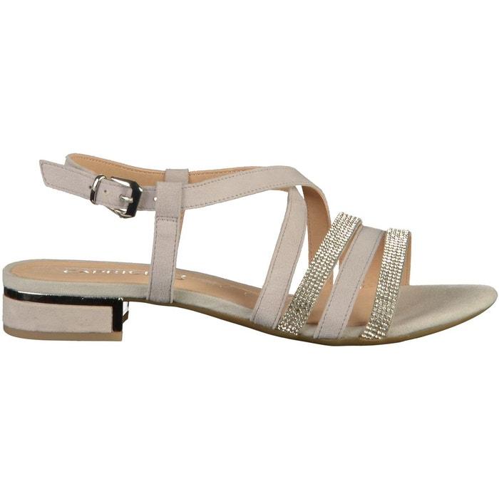 Sandales gris clair Caprice