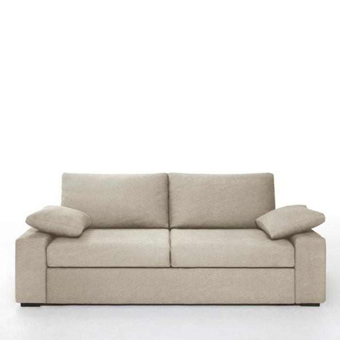 afbeelding Canapé/bed, express slaapzone, geweven katoen, Java La Redoute Interieurs