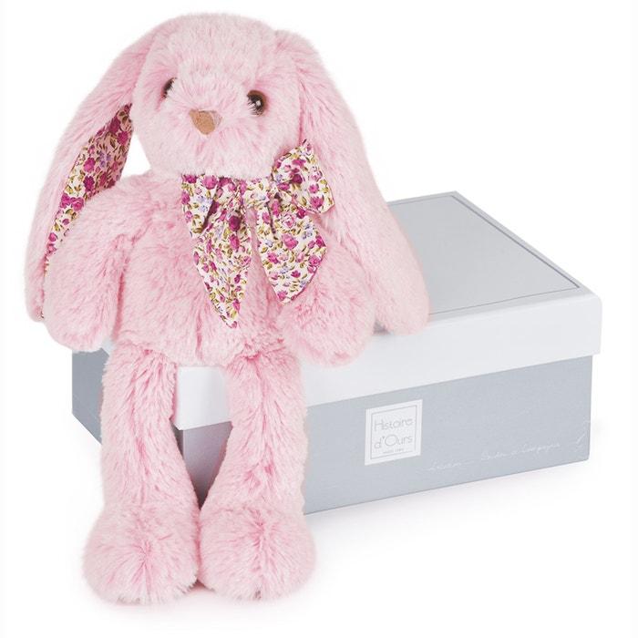 Small Les Copains Câlins Pink Rabbit, 25cm  HISTOIRE D'OURS image 0