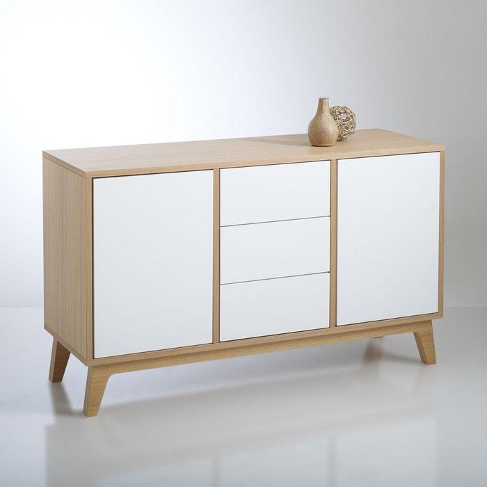 Buffet d inspiration scandinave jimi ch ne blanc la redoute interieurs la - La redoute meuble chambre ...