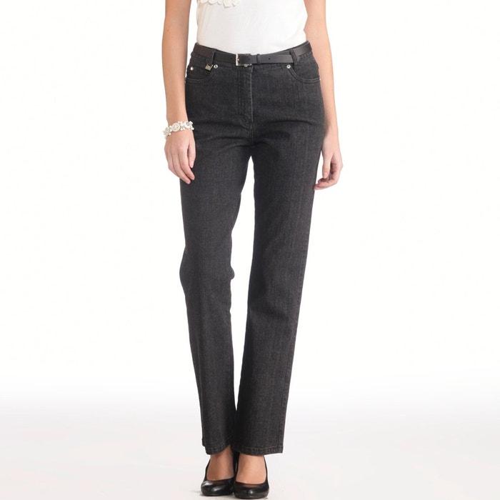 "Petite Stretch Denim Jeans, Length 28""  ANNE WEYBURN image 0"