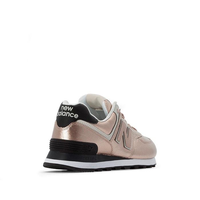 Zapatillas wl574wer rosa dorado New Balance   La Redoute