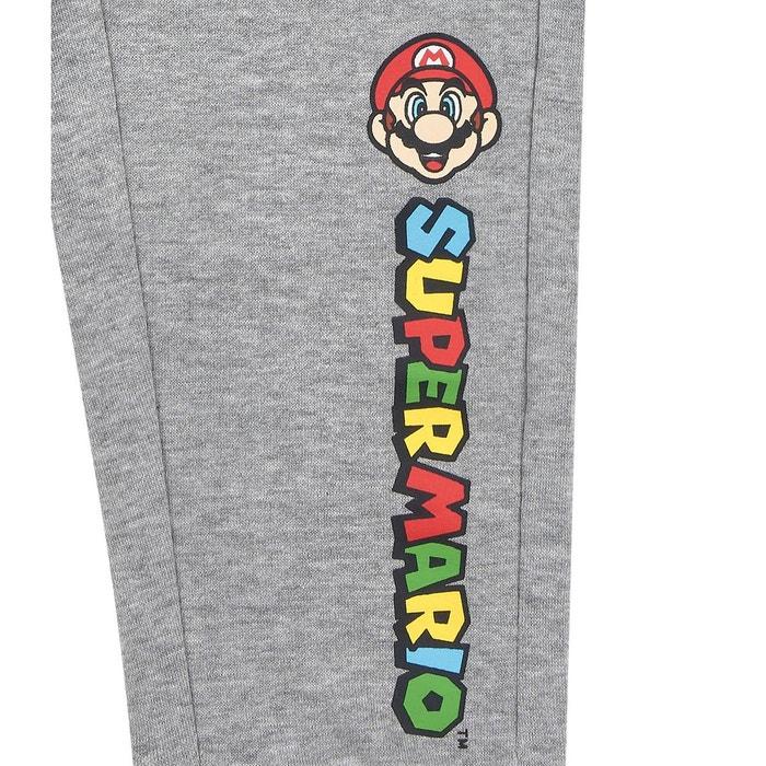 Garçons Pantalon De Sport Jogging Super Mario Bros Bleu Gris 116 128 134 140 Vêtements, Accessoires Enfants: Vêtements, Access.