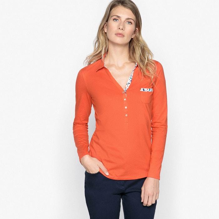T-shirt polo con maniche lunghe  ANNE WEYBURN image 0