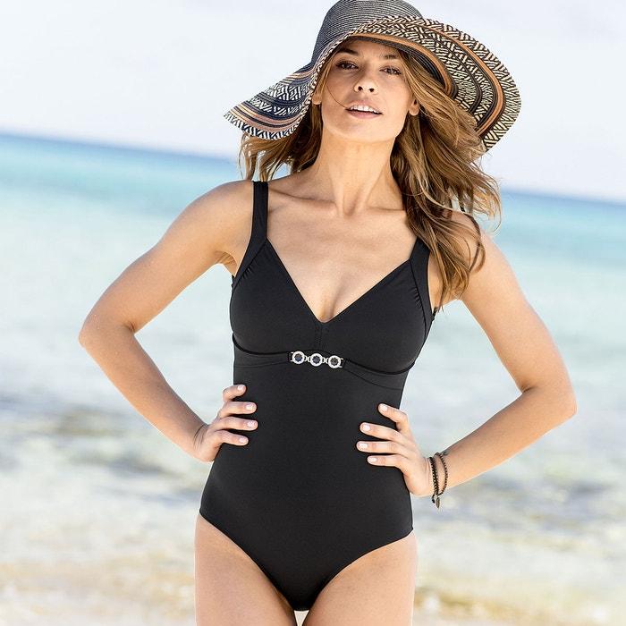 Jewel Trim Tummy-Toning Swimsuit  ANNE WEYBURN image 0