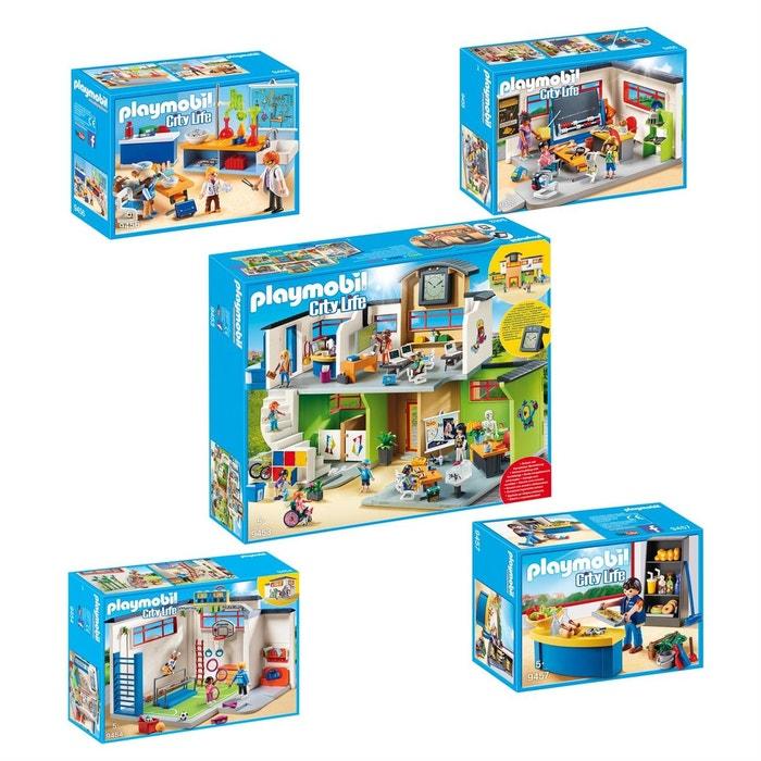 Playmobil 9453-54-55-56-57 city life - set de 5 boites sur le thème ...