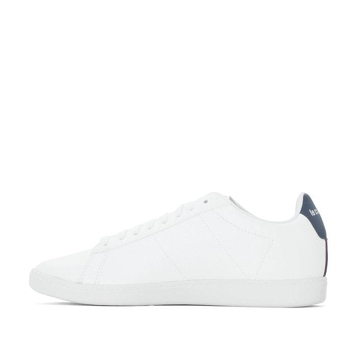 ... Baskets courtset s lea blanc, marine Le Coq Sportif ...