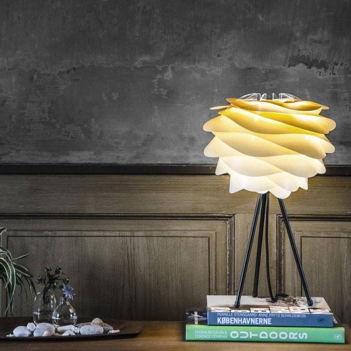 Carmina lampe  poser tie & dye sahara trépied blanc ¸32cm jaune