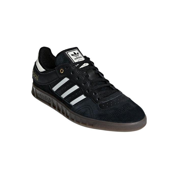 cbe68e65c91 Chaussures handball top noir blanc gris carbone Adidas Originals ...