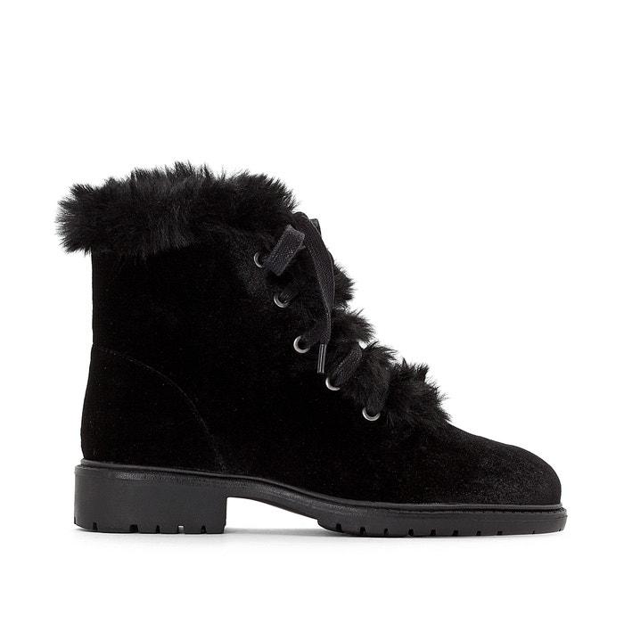 Velvet Ankle Boots  MADEMOISELLE R image 0