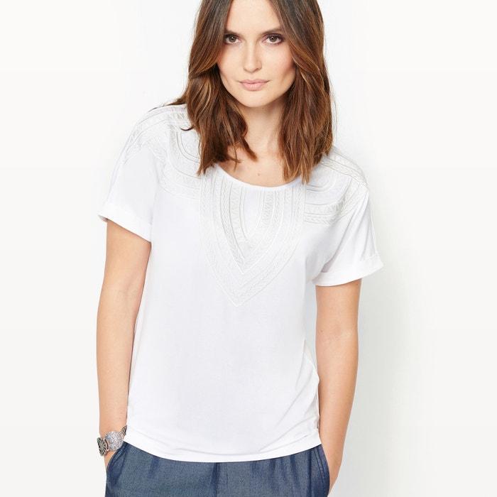 Imagen de Camiseta de algodón y modal ANNE WEYBURN