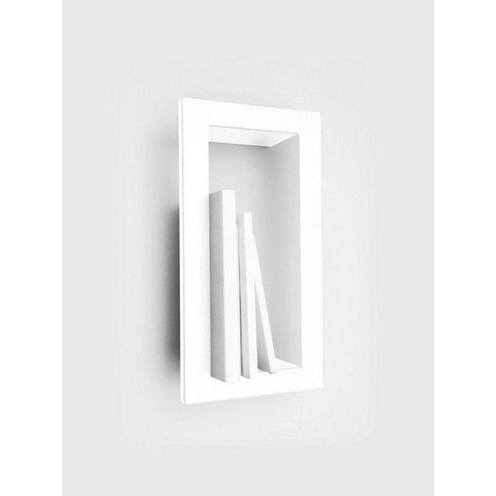 Etag re murale cadre highstick acier laqu mat blanc - La redoute etagere murale ...