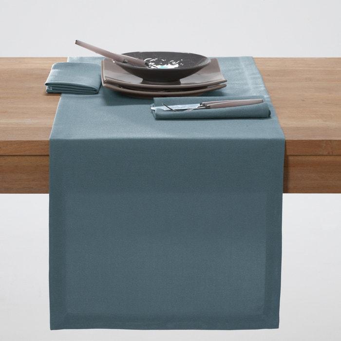 Chemin de table uni polyester scenario la redoute - La redoute linge de table ...