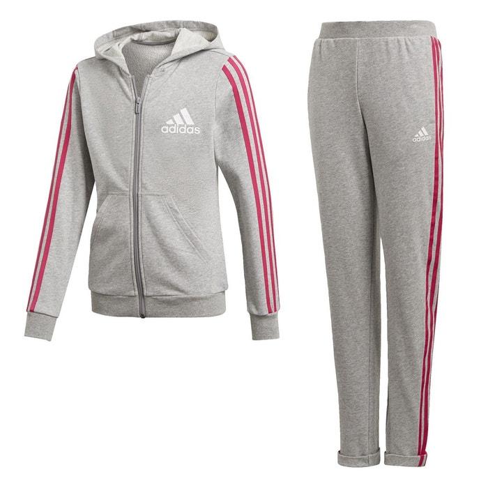 7de6a8d3099d8 Survêtement hooded gris Adidas Performance