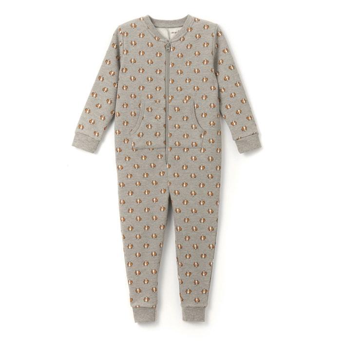 Image Combinaison pyjama molleton imprimé 2-12 ans La Redoute Collections