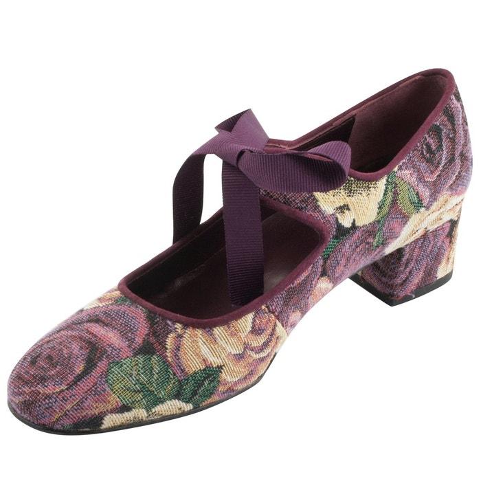 Chaussures à talons zoé multicolore Exclusif Paris