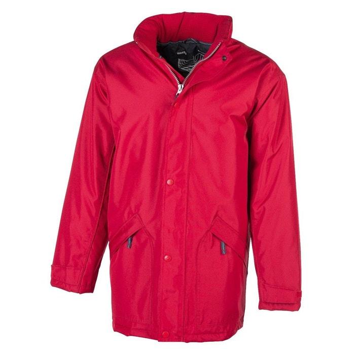 46150e6effd4c Parka doublure matelassée rouge Fashion Cuir   La Redoute