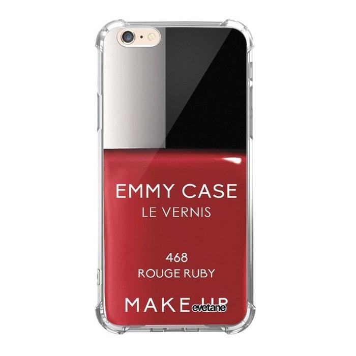 coque iphone 6 souple rouge