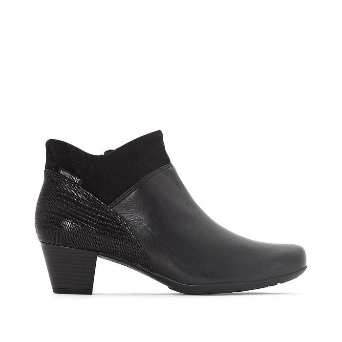 Boots cuir michaela  noir Mephisto  La Redoute