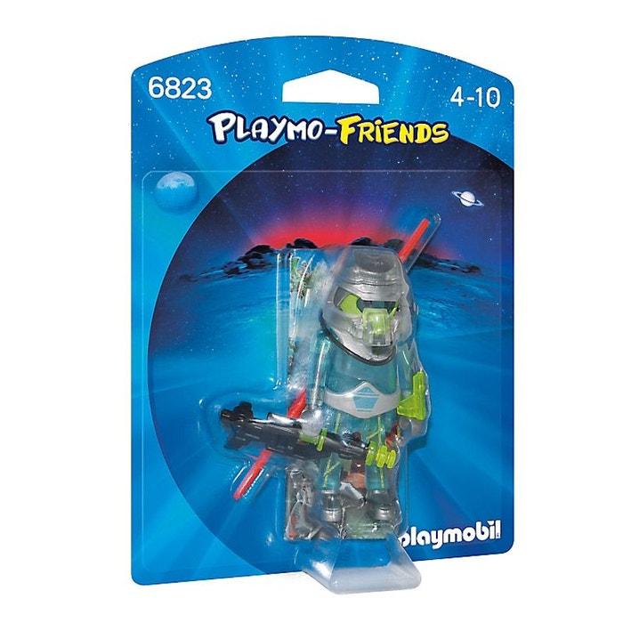 Playmobil 6823 playmo friends combattant de l 39 espace couleur unique pla - La redoute playmobil ...