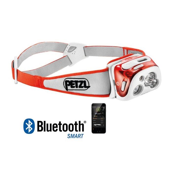 Petzl Reactik Corail Lampe Frontale Programmable Et Rechargeable