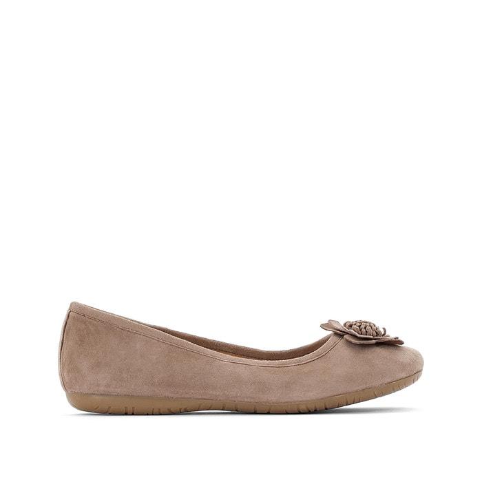 978b5ac40a24 Leather ballet pumps beige Anne Weyburn