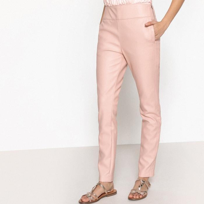 Pantaloni slim PU  La Redoute Collections image 0