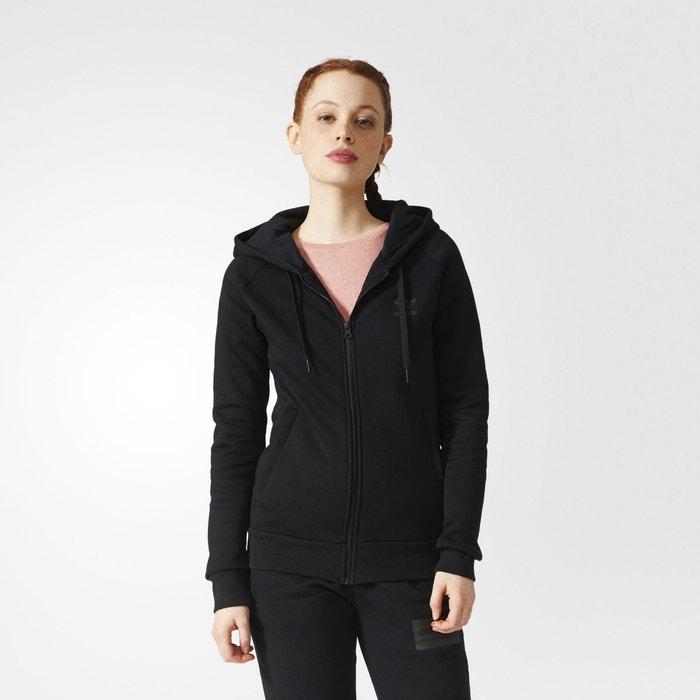 Originals Sweat Noir La Zippé Capuche Redoute À Adidas 66B1fw