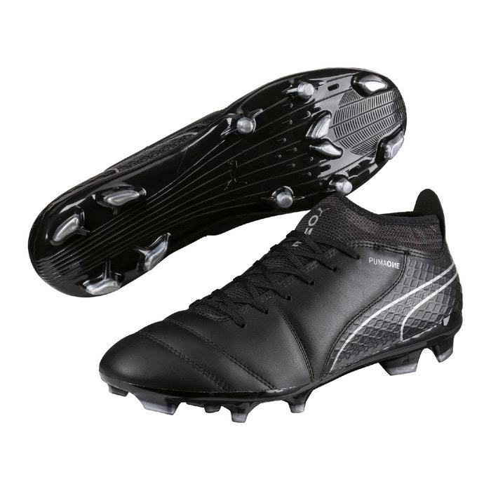 Puma ONE 17.2 FG Chaussures de Football Cuir Homme bleu - Chaussures Football Homme