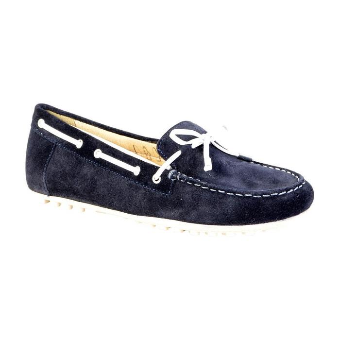 Mocassin leelyan navy bleu Geox
