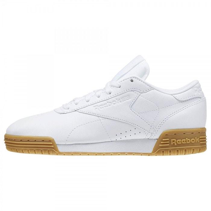 Basket reebok exofit lo cln garment gum - bd2810 blanc Reebok