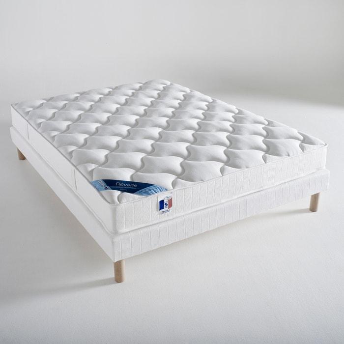 ensemble matras latex bedbodem wit reverie la redoute. Black Bedroom Furniture Sets. Home Design Ideas