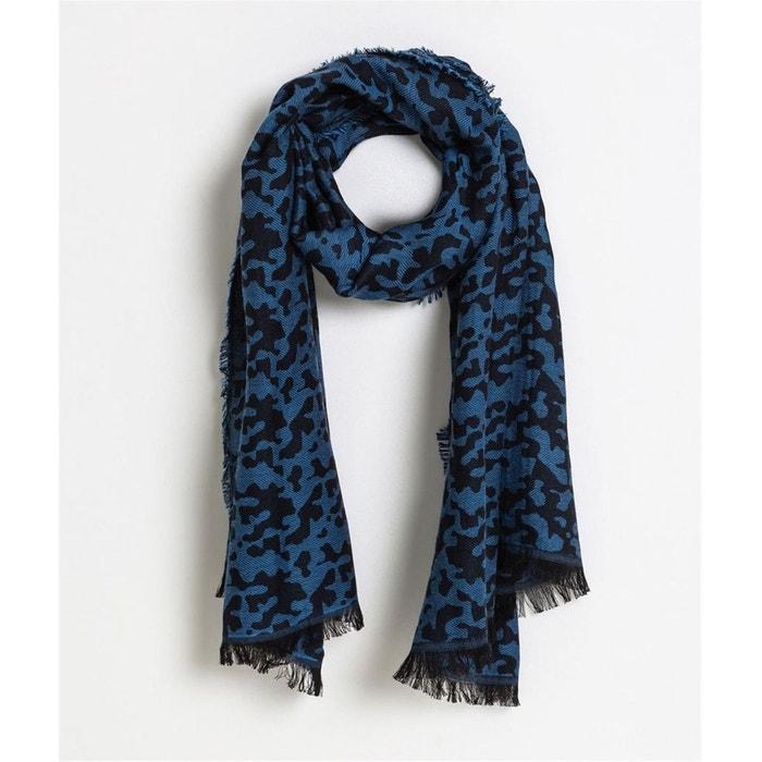 070ca37470cc Foulard motif panthère bleu bleu Grain De Malice   La Redoute