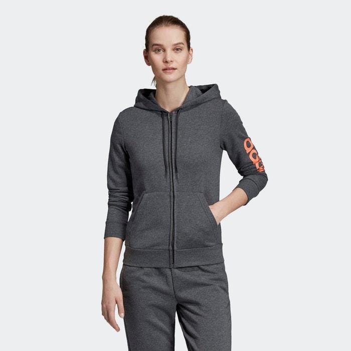 Sweat shirt Essentials linear zippé à capuche