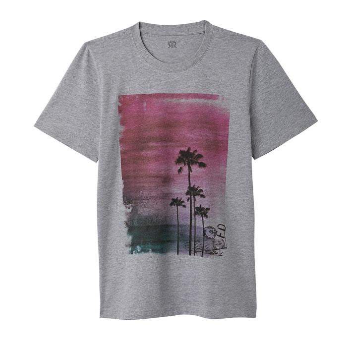 T-shirt scollo rotondo, motivo fantasia  La Redoute Collections image 0