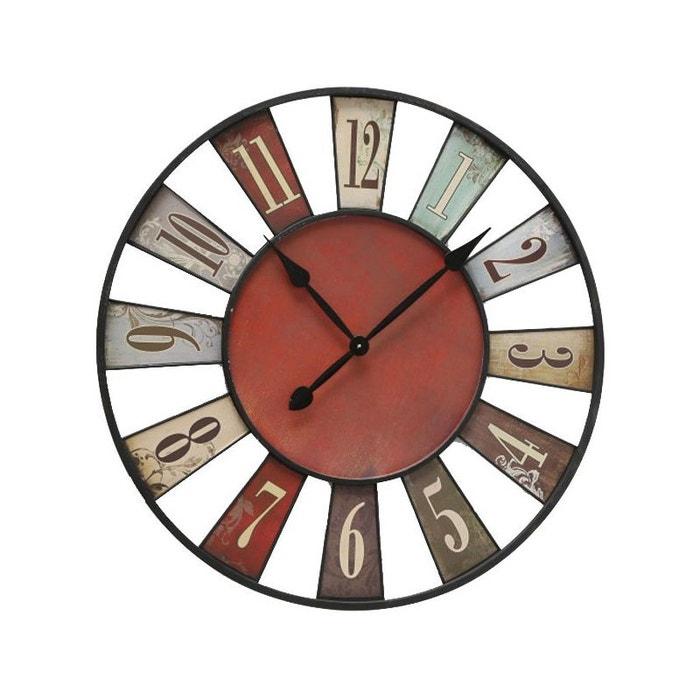 416adace23096 Horloge murale originale multicolore bilbao - 74cm multicolore Wadiga | La  Redoute