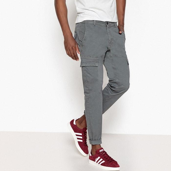 Slim Esprit Pantalon Collections Gris Battle La Redoute n0mNw8