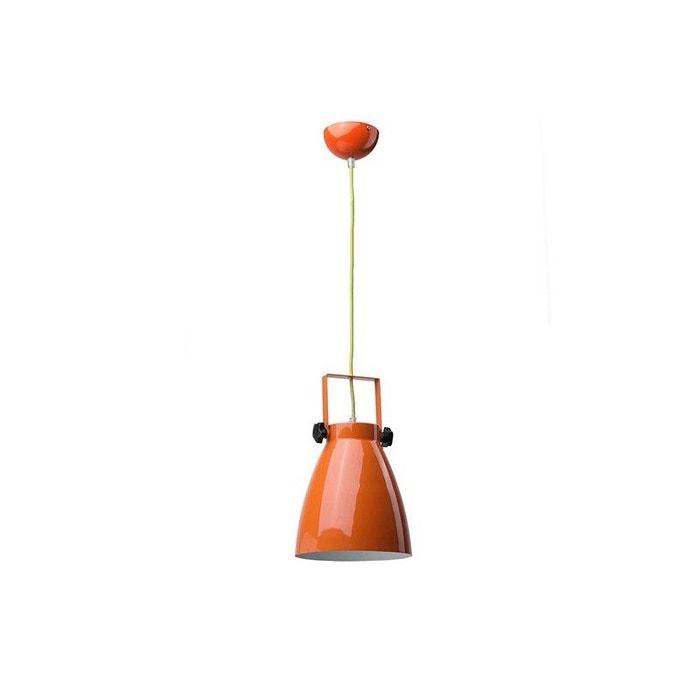 Suspension chambre ado orange pop\'s orange Millumine | La Redoute