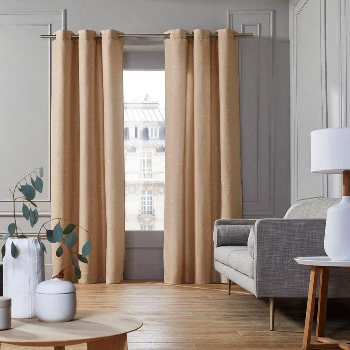 madura rideaux madura rideau oeillets acapulco orange et naturel x cm with madura rideaux. Black Bedroom Furniture Sets. Home Design Ideas