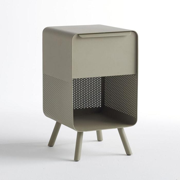 chevet bout de canap steel kaki am pm la redoute. Black Bedroom Furniture Sets. Home Design Ideas