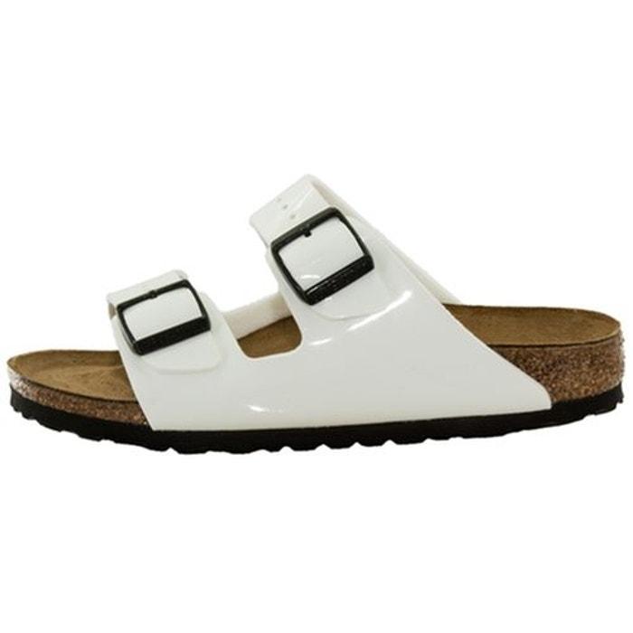 Sandales  /  nu-pieds cuir  blanc Birkenstock  La Redoute